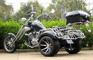 The 250cc Road Warrior 3 Wheeler Chopper