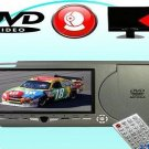 Sun Visor DVD+Game Player (Right Side) - USB + Card Slot -GREY