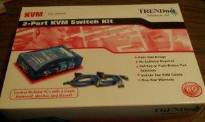 TRENDnet 2 Port KVM Switch TK-200K