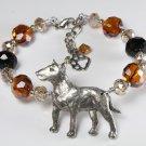 Blingy Bull Terrier Bracelet