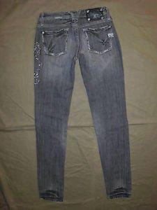 """Miss Me Women's Jeans, Skinny Leg, JP4357 in SEATTLE Color, Size 25 (Inseam 34"""")"""