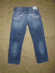 BIG STAR Women's Jeans, Cropped/Capri, Size 27