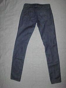 "William Rast Women's  Jeans, Dark Wash, Skinny Leg, Size 25 (33"" Inseam)."