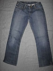 LUCKY BRAND WOMEN'S  JEANS, ELITE JEAN, BOOT CUT WITH SLIT, SIZE 4/27 INSEAM 30