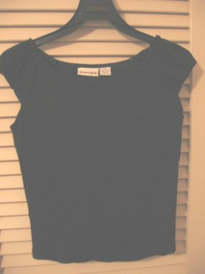 Black Tank Top Blouse Small/Medium