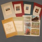 Vintage The Metropolitan Museum of Art Miniatures. Set of 6 albums. 1949-1954