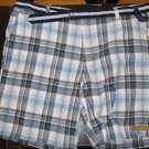 Club Room BLUE/WHITE PATTERN Short size 42 MSRP $35.00!!