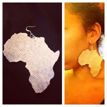 Africa Earrings (Aluminum Large)