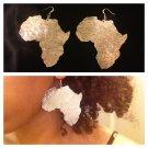 Africa Earrings (Medium Aluminum