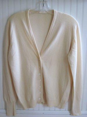 Nina Ricci 70s Vintage Cashmere Cardigan Sweater Medium