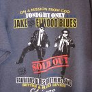 Blues Brothers On A Mission From God… T Shirt XL New