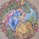 Romantic Needlepoint Canvas to Cover Chair, Back, Seat, Arms