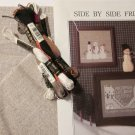 Side by Side Friends from City Stitcher Snowmen Cross Stitch