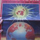 World Atlas and History of the War in Maps, Chicago Sun, 1947