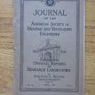 Journal of the American Society of Heating and Ventilating Engineers, 1923