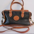 Vintage Dooney & Bourke Black AWL Satchel with Strap