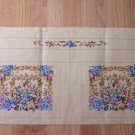 Vintage French Needlepoint Canvas for Purse, Handbag
