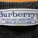 Burberrys Men's Sweater Charcoal Large 42 in