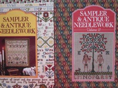 Sampler & Antique Needlework Volumes I and II