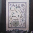 Bloomin' Alphabet by La-D-Da Cross Stitch Kit Free Shipping