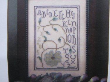 Bloomin� Alphabet by La-D-Da Cross Stitch Kit Free Shipping