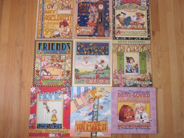 Lot 9 Mary Engelbreit Wall Calendars 1999-2007