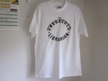 Unabashed Librarian T Shirt Large New Free Shipping