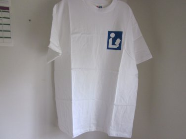 Library Logo Universal Sign T Shirt Large New Free Shipping
