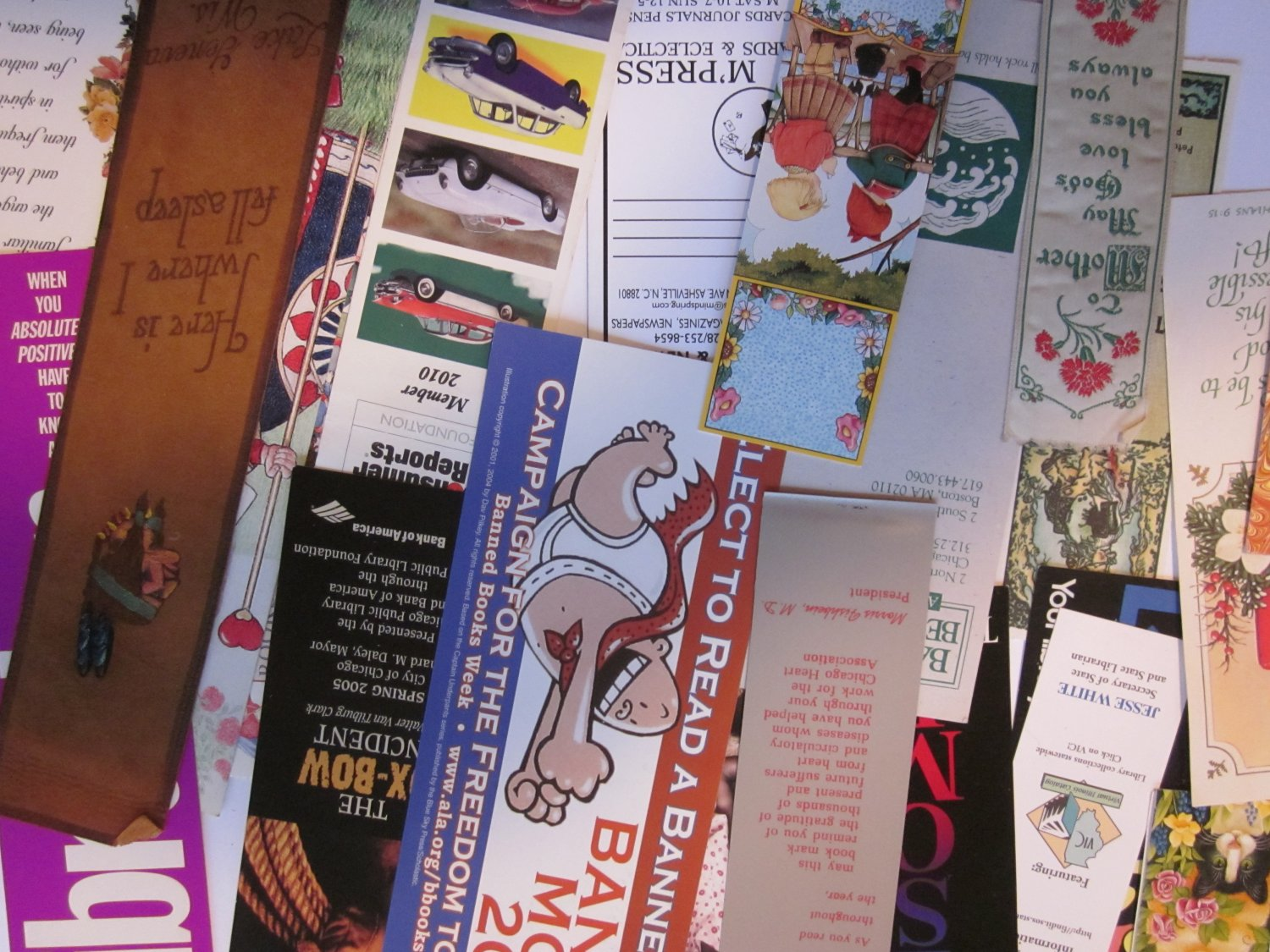 Lot 36 Bookmarks Free Shipping