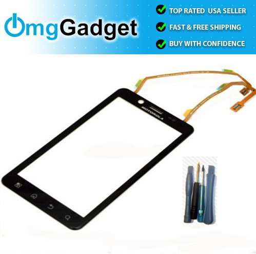 Verizon Motorola Bionic MB875 XT875 4G Touch Glass Lens Screen Digitizer Parts