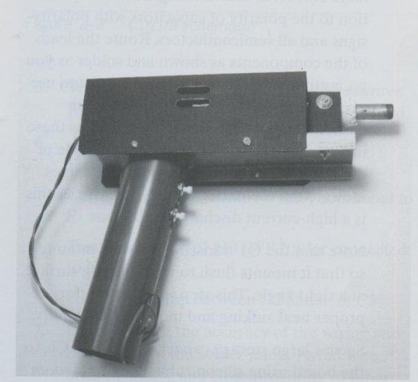Electrokinetic Gun Plans