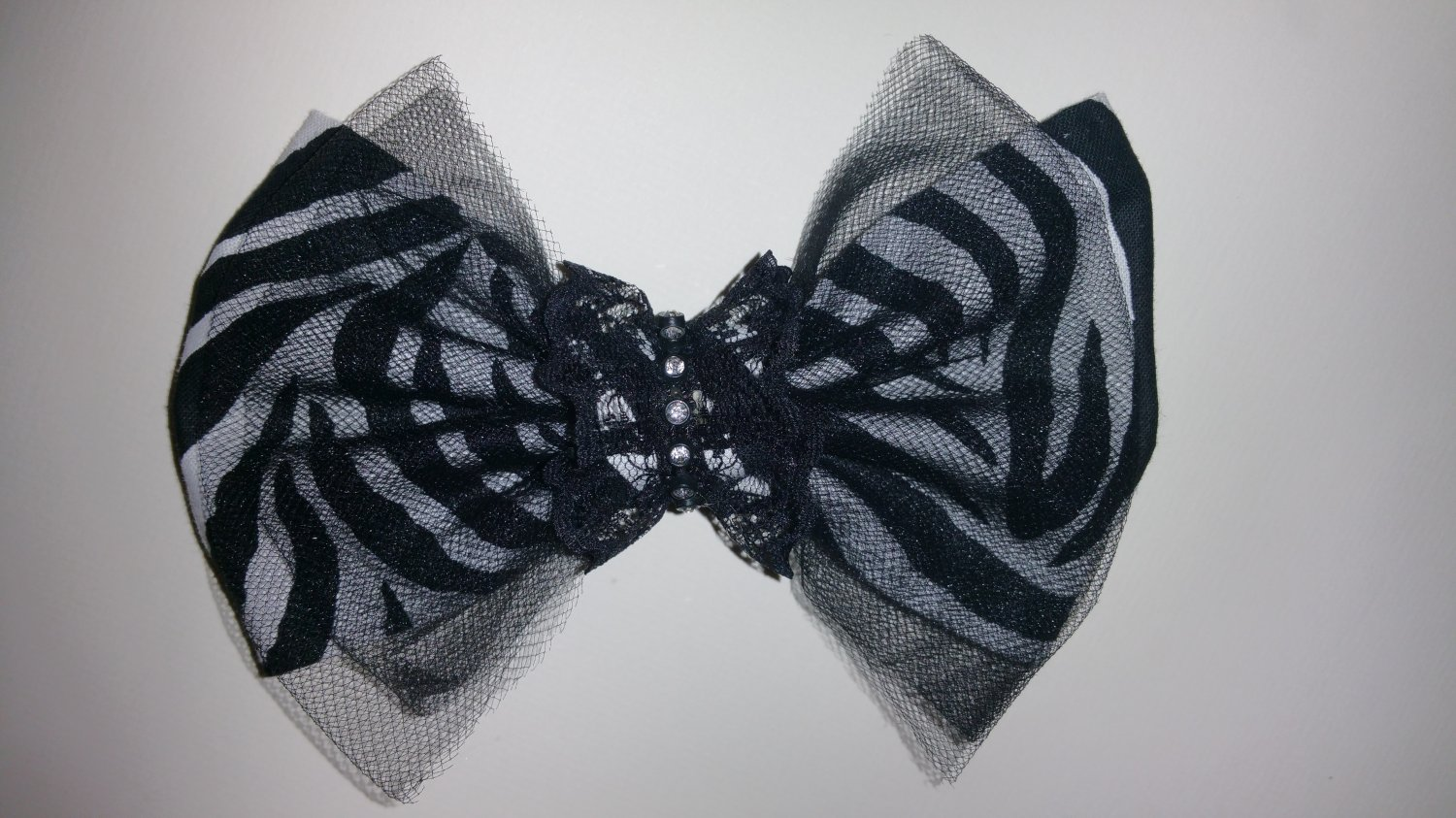 Clip-On Hair Bow