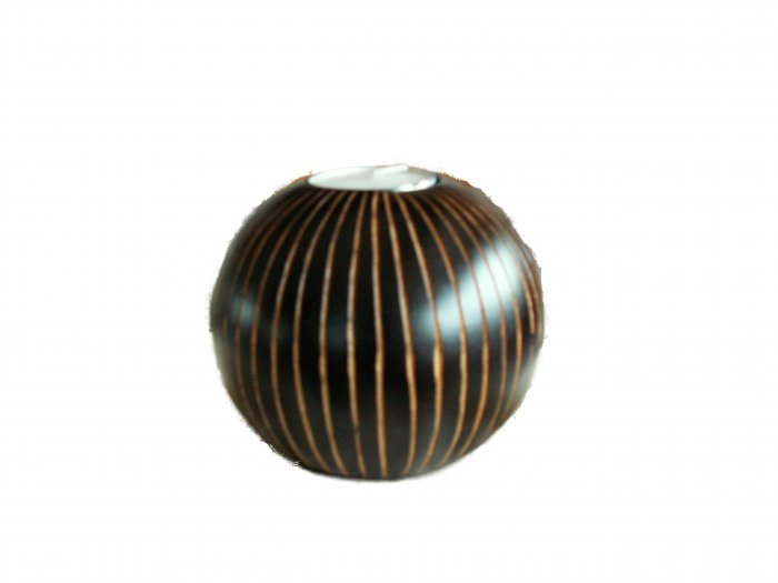 MONGO WOOD VOLTIVE CANDLE HOLDER