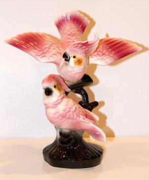California Pottery Cockatoo Figurine - Maddux