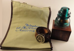 Vintage and Rare Telephone Pioneers of America Lot c.1970's