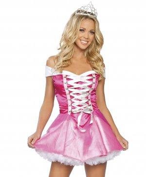 2pc sleeping beauty princess adult woman halloween costume - Beauty Halloween Costume