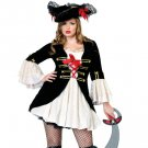 Captain Swashbuckler-Sexy Plus Size Adult Woman Costume