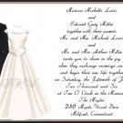 Wedding Attire Wedding Invitations