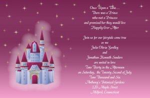 Fairytale Wedding 2  Invitations