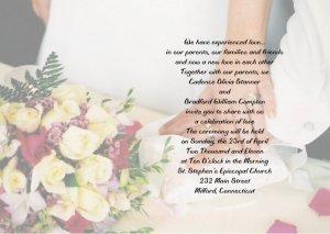 Hand in Hand Wedding Invitations