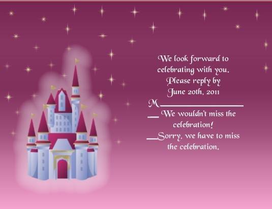 Fairytale2 rsvp cards