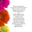 Gebrera Daisies Wedding Invitations