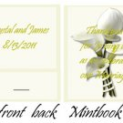 Calla Lilly 2 Mintbook / Mint Matchbook