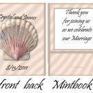 Seashell  Mintbooks / Mint Matchbooks