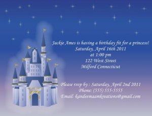 Fairytale1 Kids Birthday Invitations