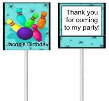 Bowling lollipop
