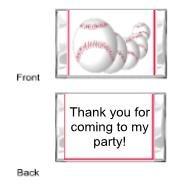 Baseball2 mini bars