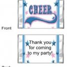 Cheerleading mini bars