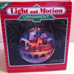 1986 Village Express Hallmark Ornament