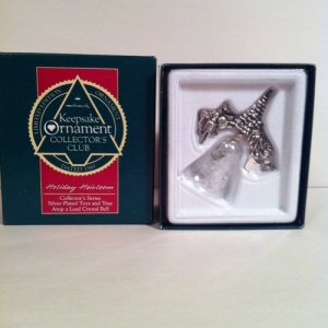 """Holiday Heirloom"" Collector's Club 1989 Hallmark Keepsake Ornament"